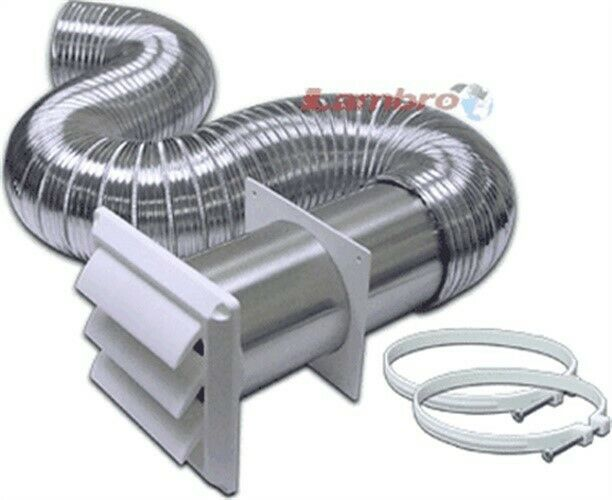 lambro 318w 4x8 aluminum dryer vent kit by lambro