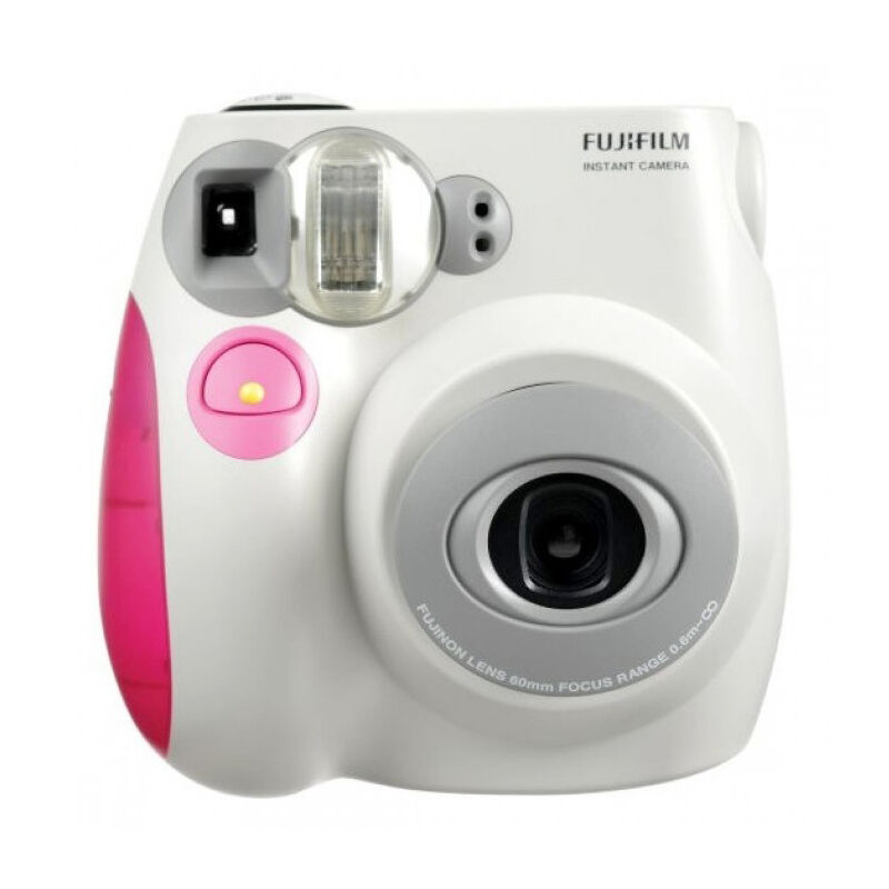 pink colour fujifilm fuji instax mini 7s instant photos films polaroid camera 5036321120726 ebay. Black Bedroom Furniture Sets. Home Design Ideas