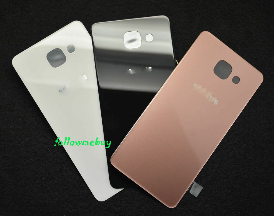 a rear glass battery cover for samsung galaxy a7 2016 a710f a710m a710fd a7100 ebay. Black Bedroom Furniture Sets. Home Design Ideas