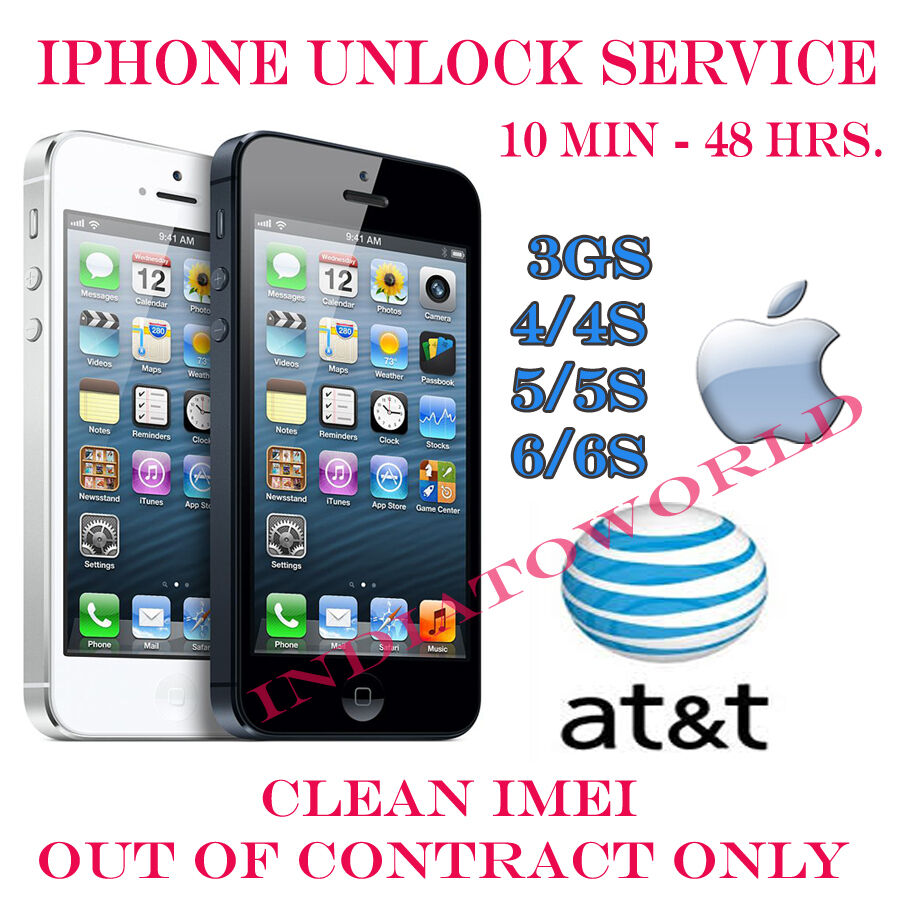 at t iphone 5 unlock at amp t att iphone 6s 6 6 5s 5c 5 4s 4 3gs factory unlock 13507