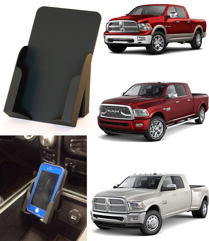 Phone holder for 2009 2016 dodge ram trucks converts business card holder new ebay for Dodge ram exterior accessories