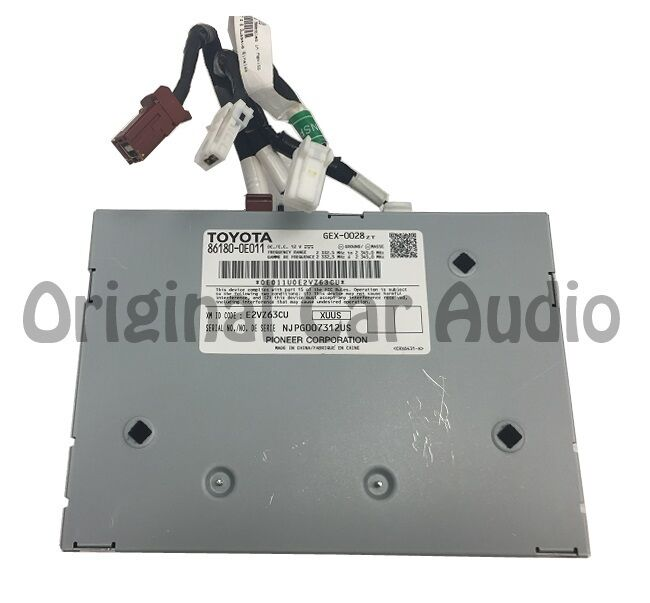 14 15 toyota satellite radio receiver module and wire connector harness ebay