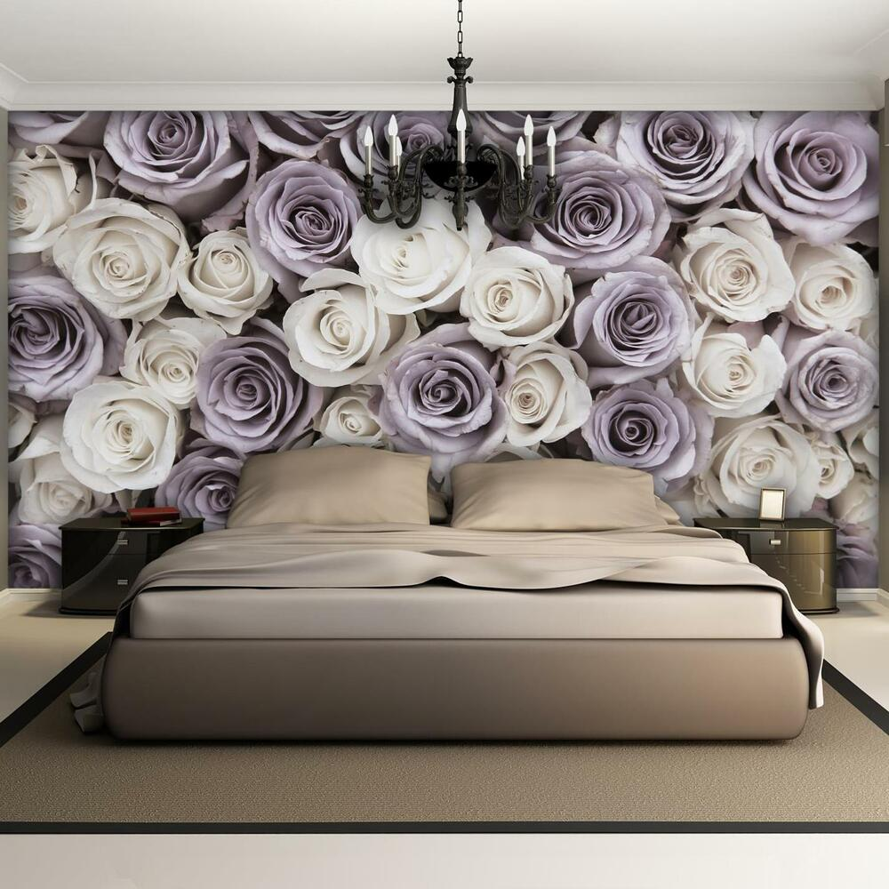 poster tapeten fototapete wandbild tapetenrosen rosa blume blumen 1626 p8 ebay. Black Bedroom Furniture Sets. Home Design Ideas