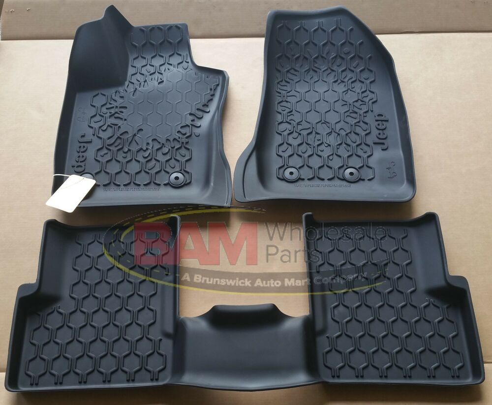 2015-18 Jeep Renegade Slush Mat Rubber Floor All Weather ...