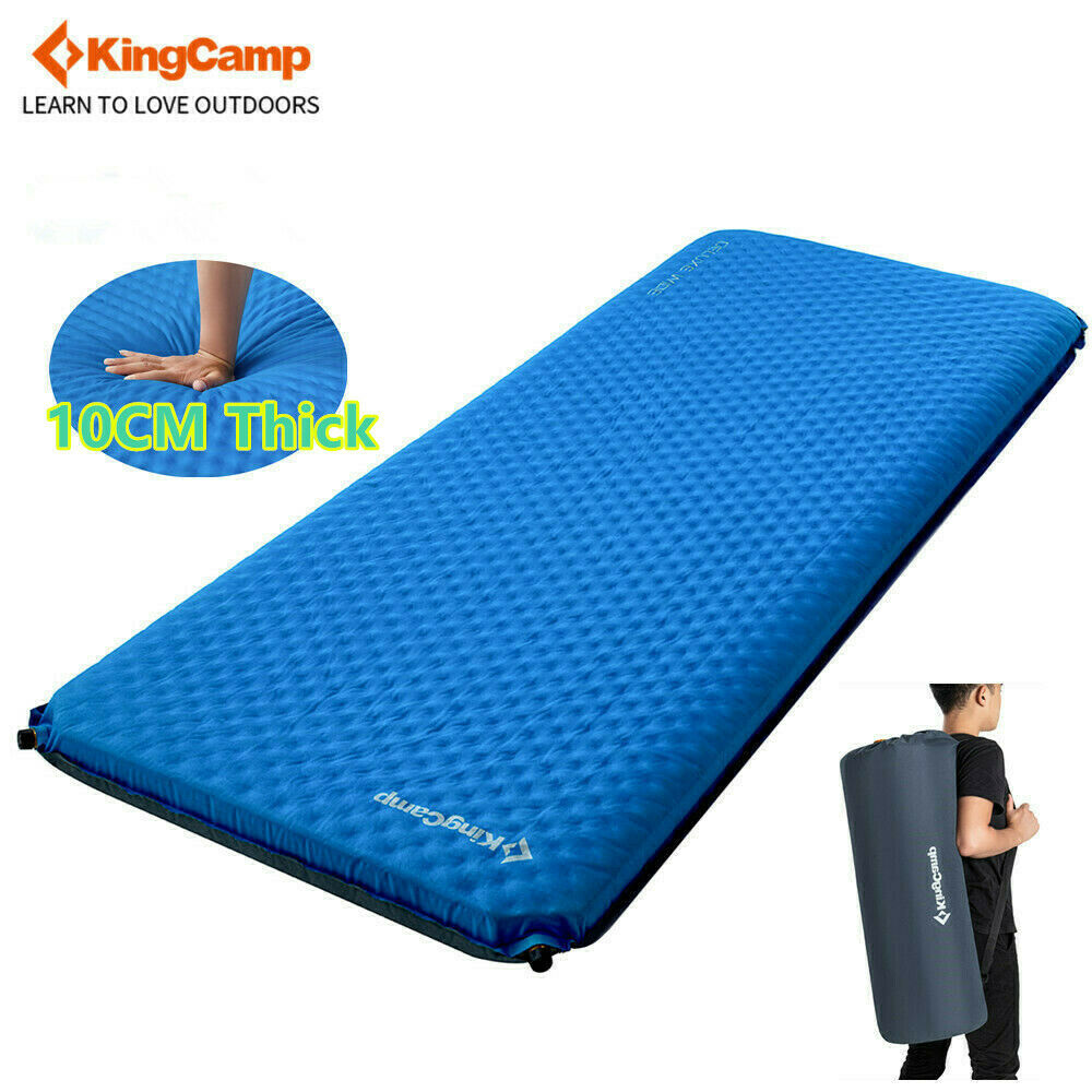 Kingcamp Deluxe Self Inflating Camping Pad Mat Wide 78 29