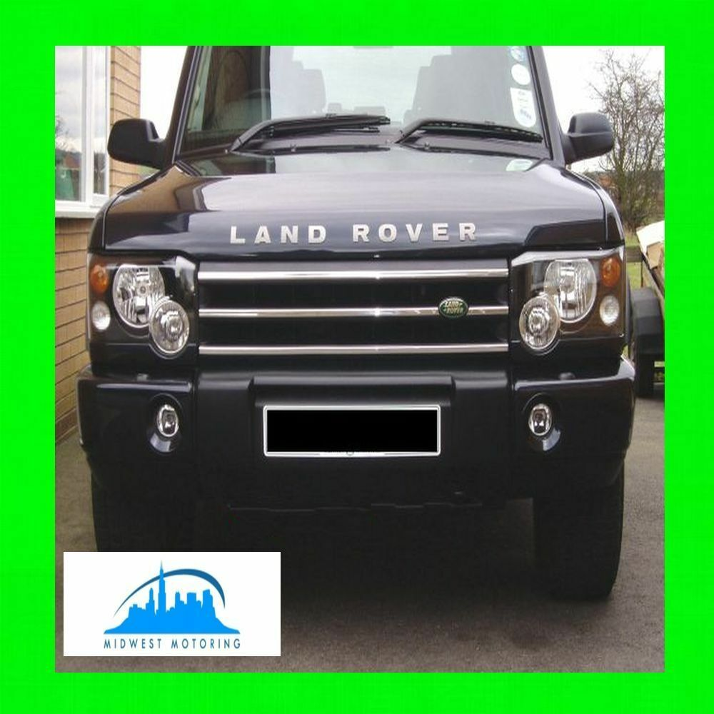 2003 Land Rover Range Rover Interior: 2003-2004 LAND ROVER DISCOVERY CHROME TRIM FOR GRILLE