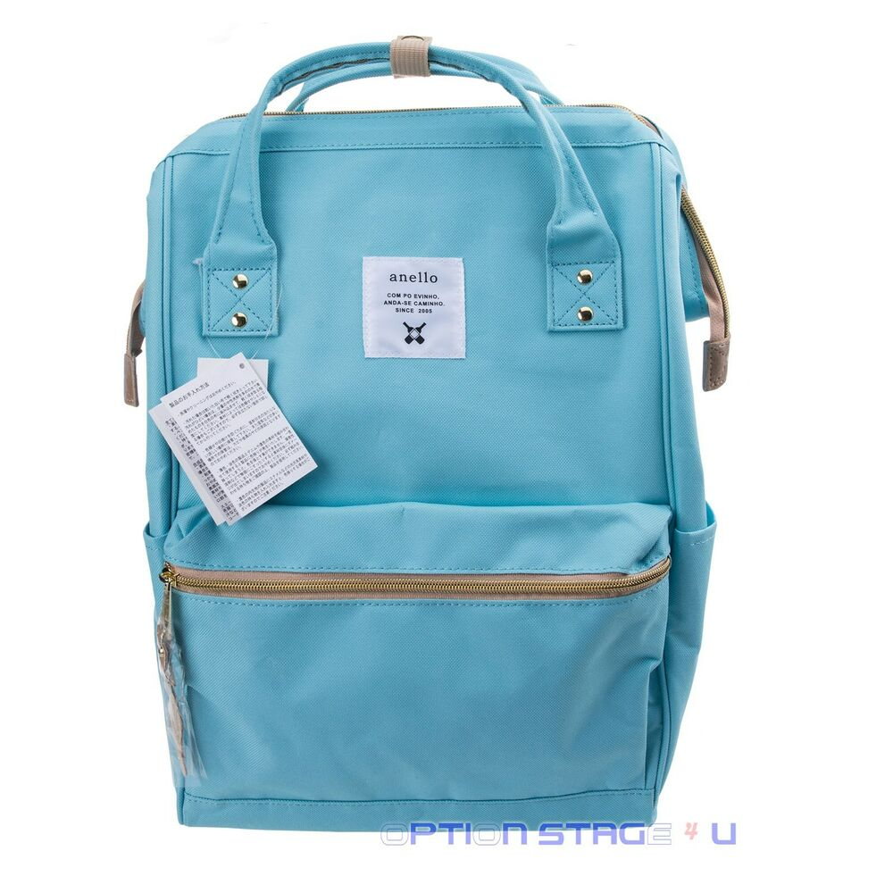 Anello Official Baby Blue Japan Unisex Fashion Backpack ...