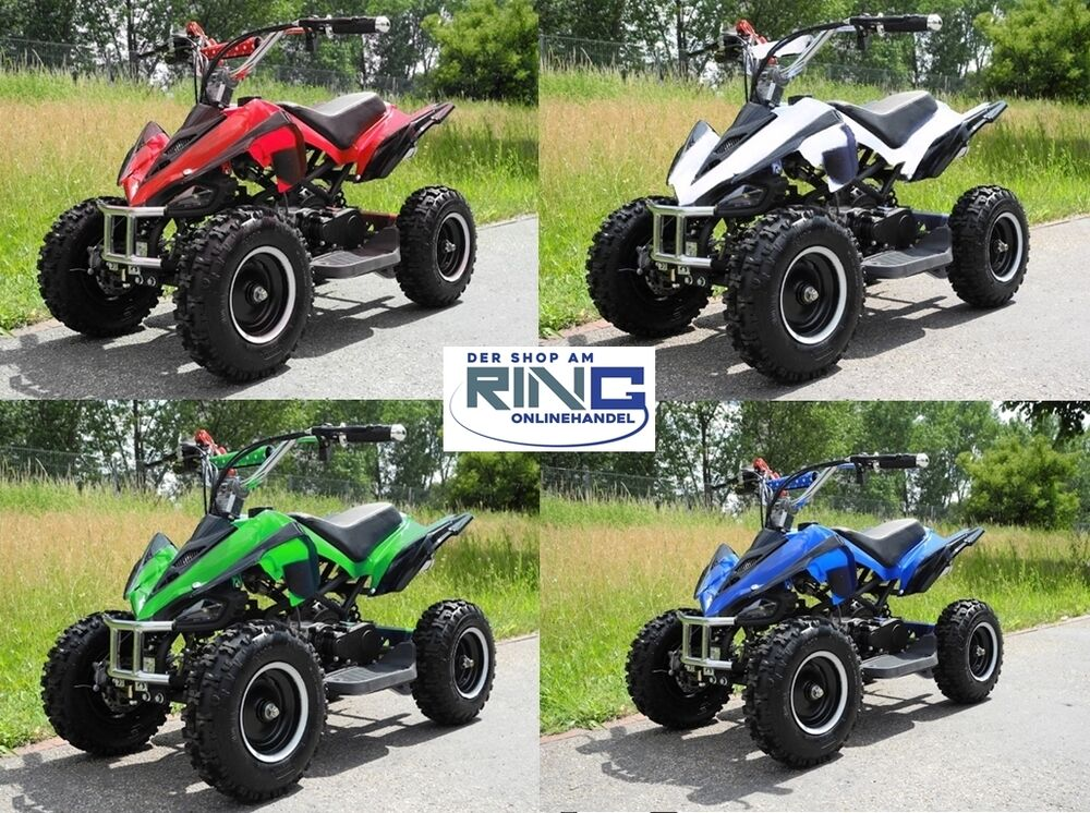 mini quad atv kinderquad pocketquad pocketbike pocket bike motorrad renn kinder ebay. Black Bedroom Furniture Sets. Home Design Ideas