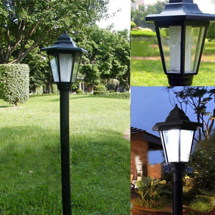 Solar Landscape Lights Outdoor: Auto Outdoor Garden LED Solar Power Path Cited Lights