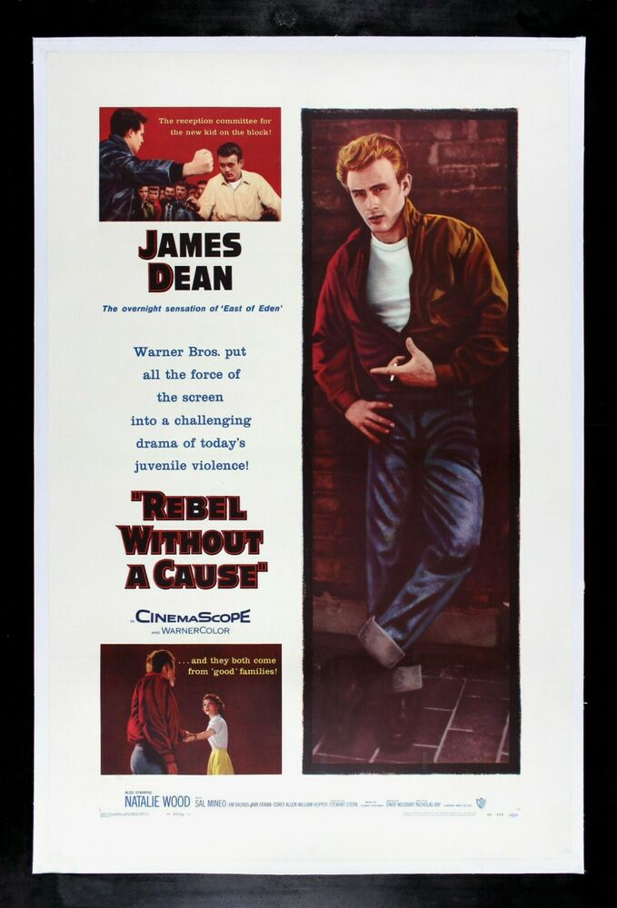 rebel without a cause cinemasterpieces original movie. Black Bedroom Furniture Sets. Home Design Ideas