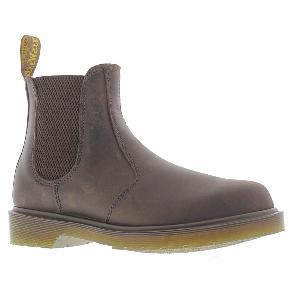Details about Dr.Martens 2976 Chelsea Boots Brown Womens Boots e817074a3