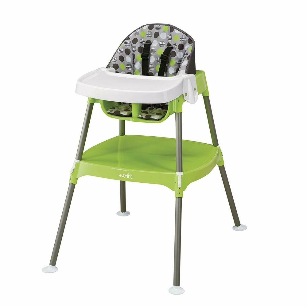 Convertible high chair baby table seat booster toddler for Table plus chaise