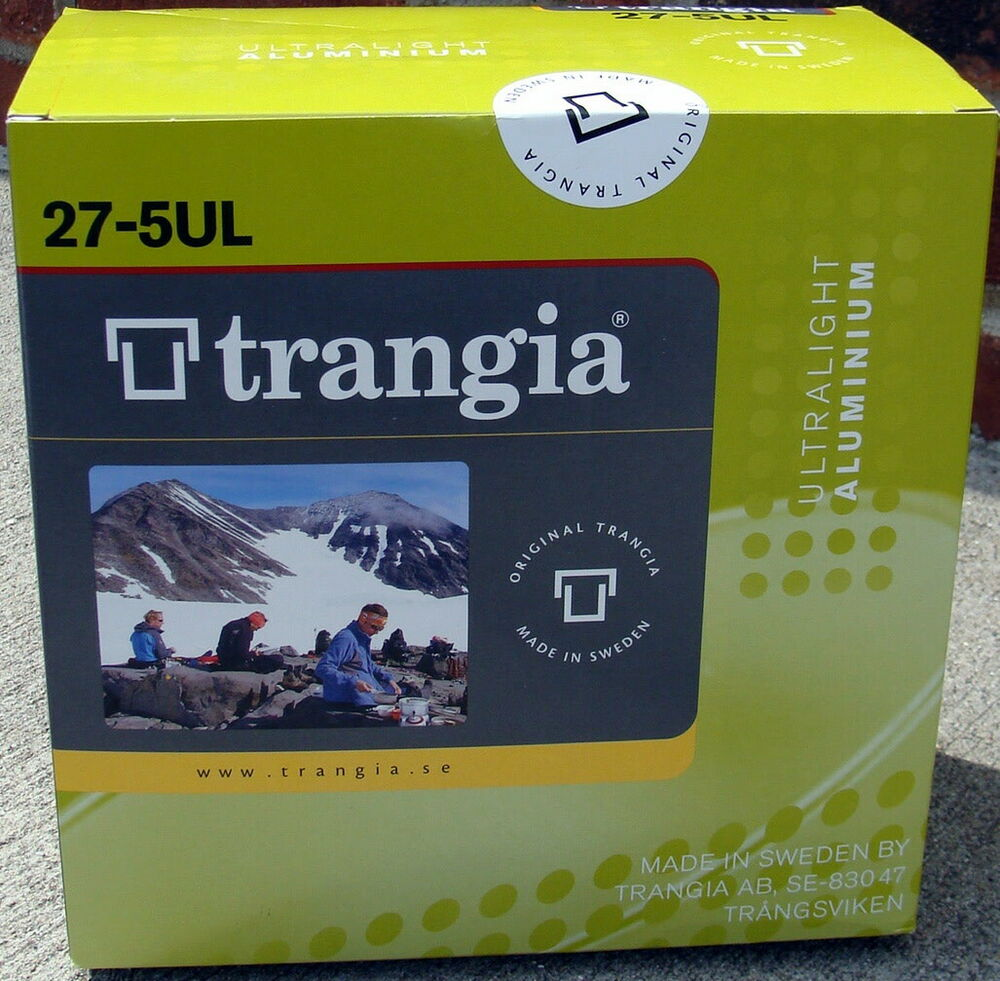 Trangia 27 5 alc stove pan set ebay for Panhandler fish filleter