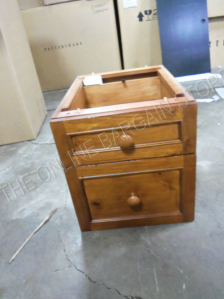 file cabinet nightstand pottery barn drawer file desk cabinet 15342