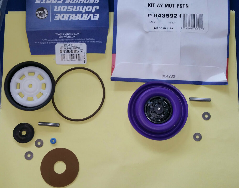 johnson vro pump boat parts omc johnson evinrude vro pump rebuild kit all years and hp 435921 436095