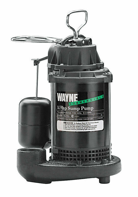 Cast Iron Submersible Sump Pump No Cdu790 Wayne Water