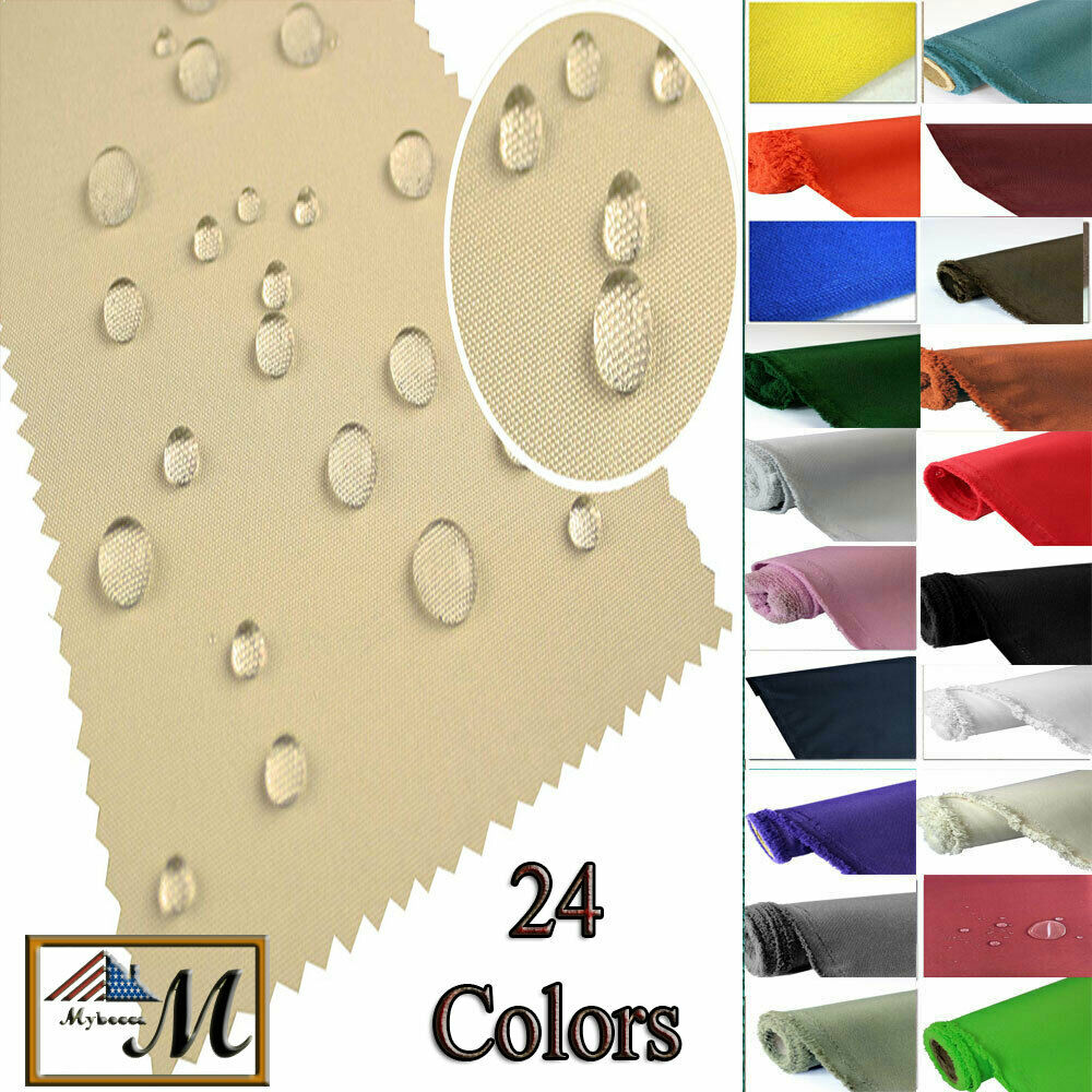Canvas fabric waterproof outdoor fabric 600 denier by the for Fabric material for sale
