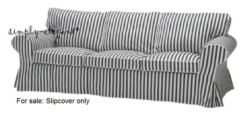 New Ikea Cover For 3 Seat Ektorp Sofa Slipcover Vallsta