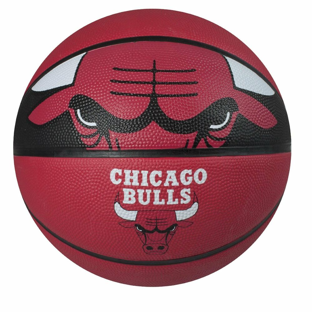 Official Chicago Bulls NBA Basketball Ball Rubber Leather ...