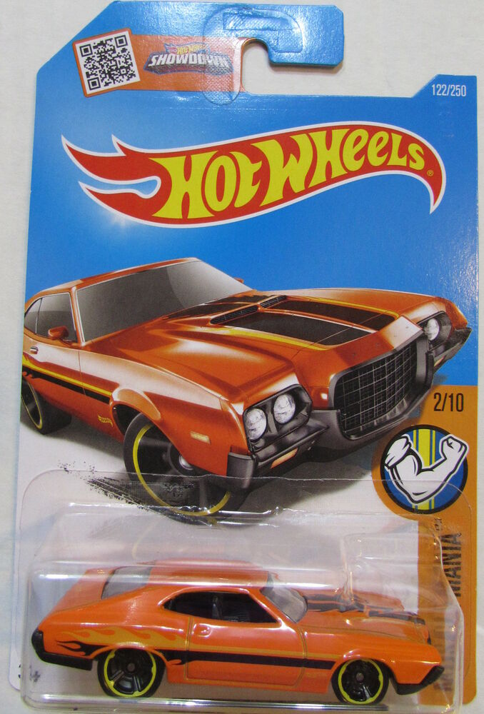 HOT WHEELS 2016 MUSCLE MANIA '72 FORD GRAN TORINO SPORT | eBay