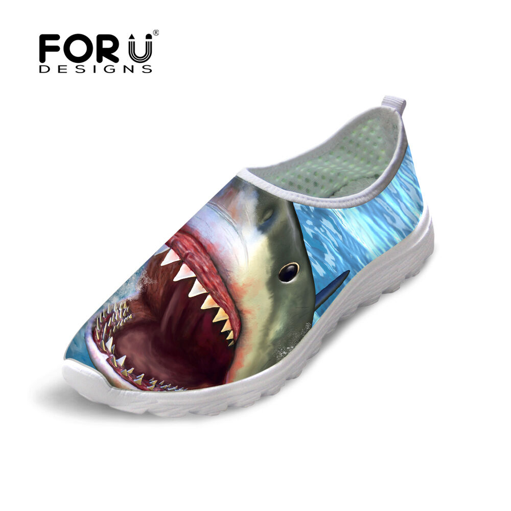 cool shark fish women breathable smart absorbing sports