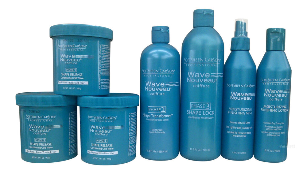 Softsheen Carson Wave Nouveau Coiffure Texturising System Products Ebay