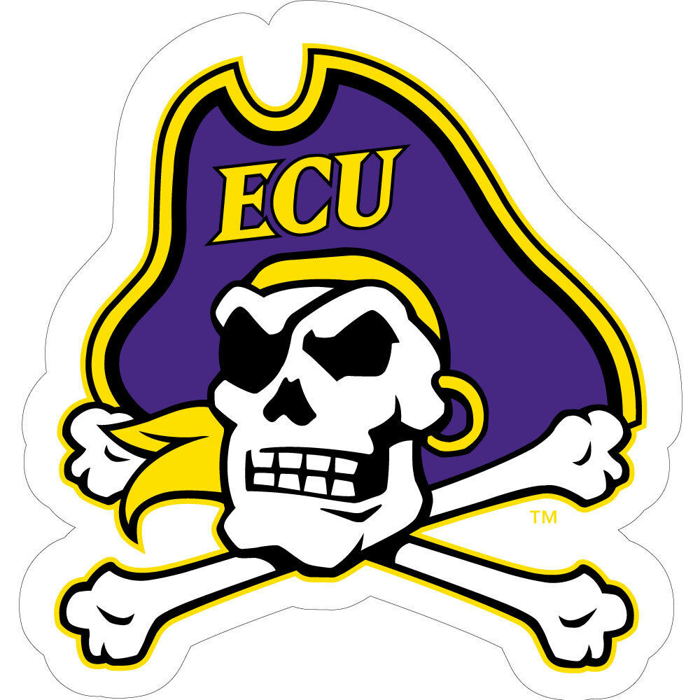 Ecu East Carolina Pirates Large Vinyl Decal Ebay