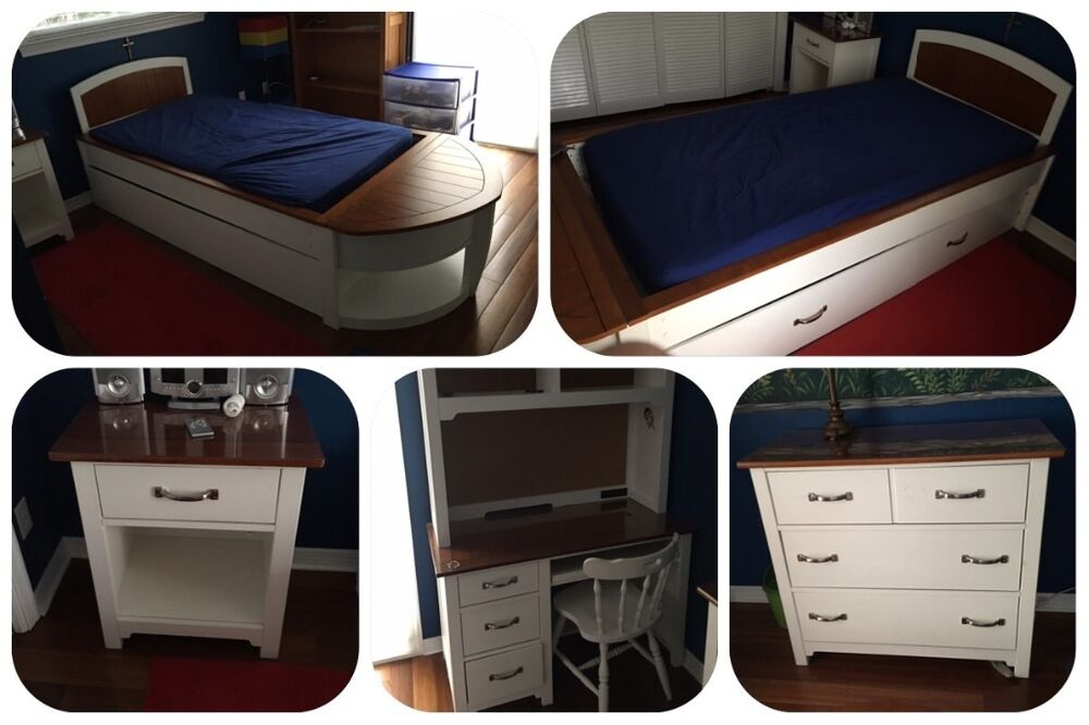 Nautical Boy 39 S Furniture Bedroom Set By Hatteras Ebay
