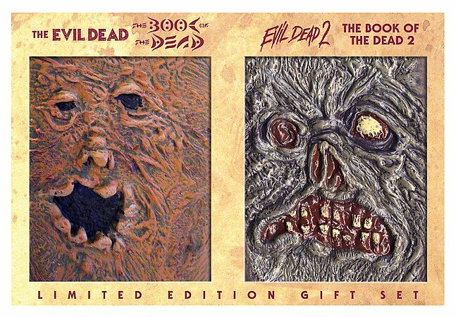 evil dead book of the dead dvd