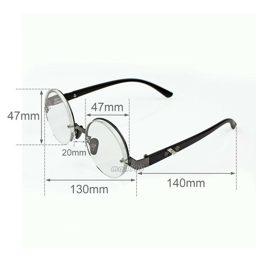 048887fc9c60 Details about New Vintage Reading Glasses Crystal Glass Reader Plastic Frame  Fashion Round