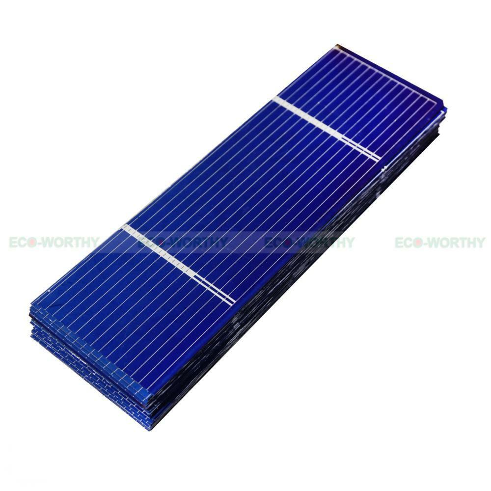 40pcs 78x26mm Poly Solar Cells High Power 0 34w Each For