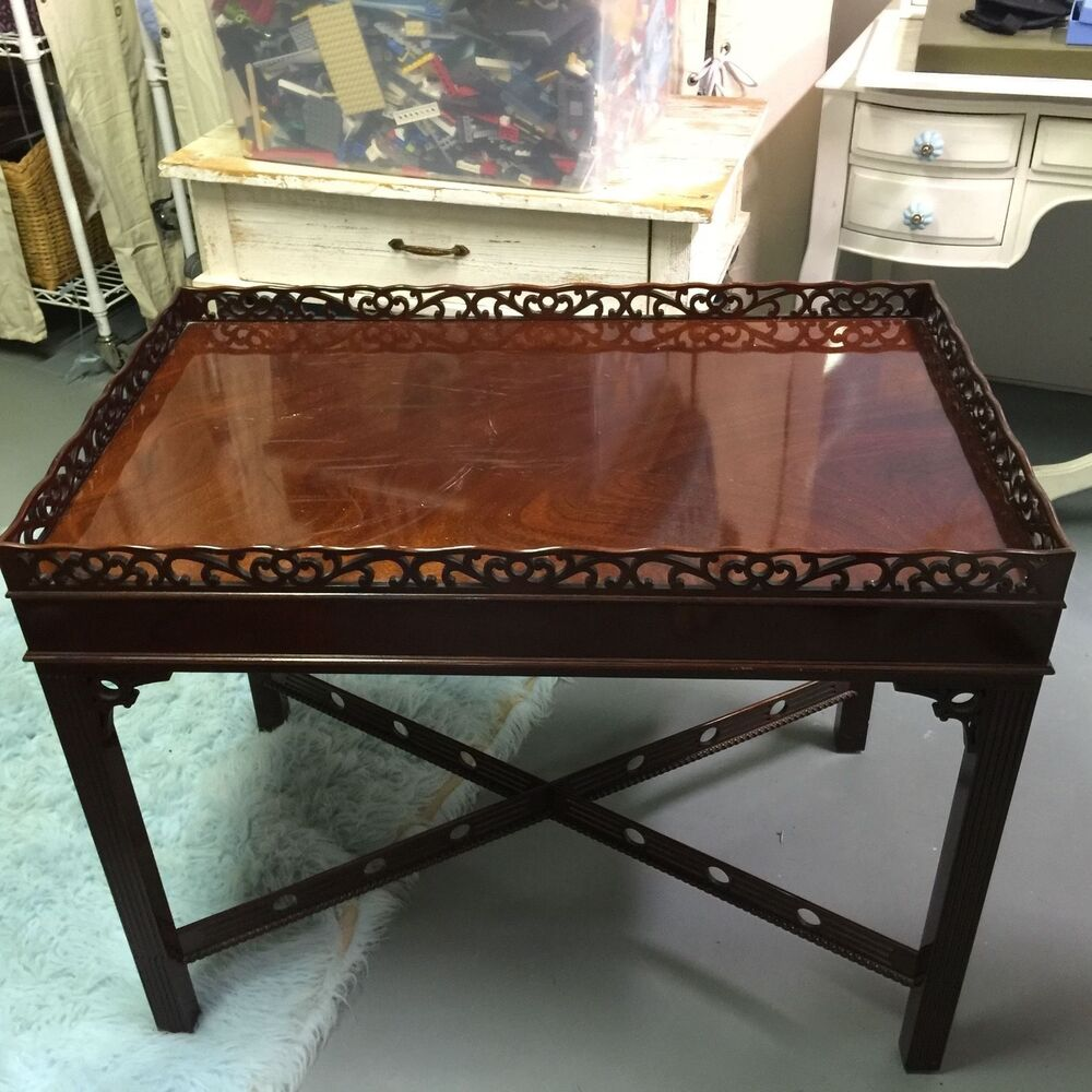 Kindel Winterthur Collection Townsend Tea Table Ebay