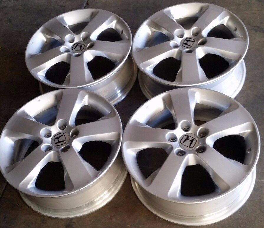 Honda Accord Crosstour Factory Oem Alloy Wheels Rims 17x6