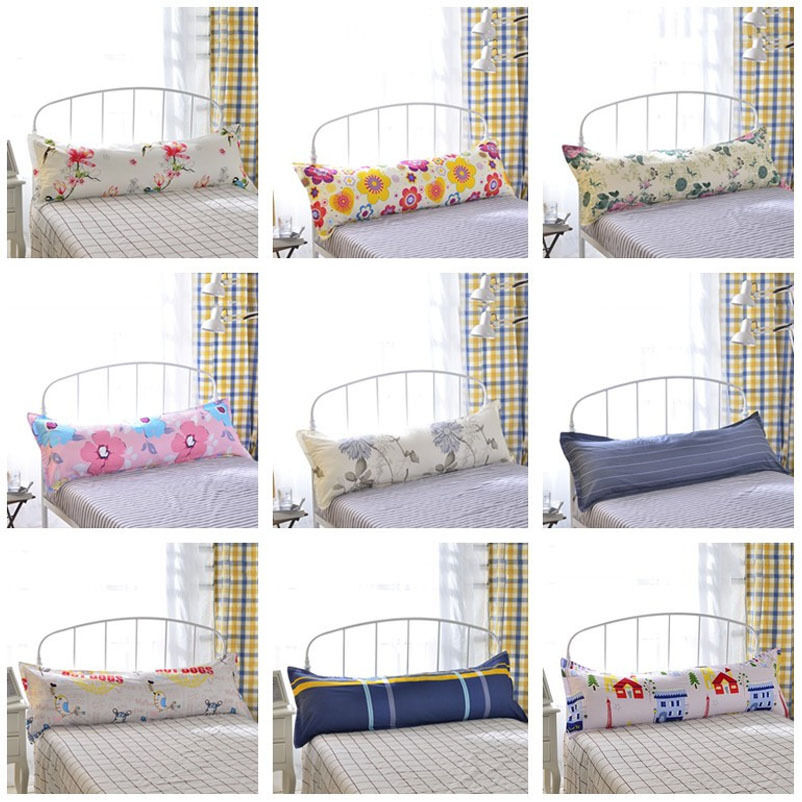 buy bed sleep long body pillow case cover protector floral pillowcase sp92 new ebay. Black Bedroom Furniture Sets. Home Design Ideas
