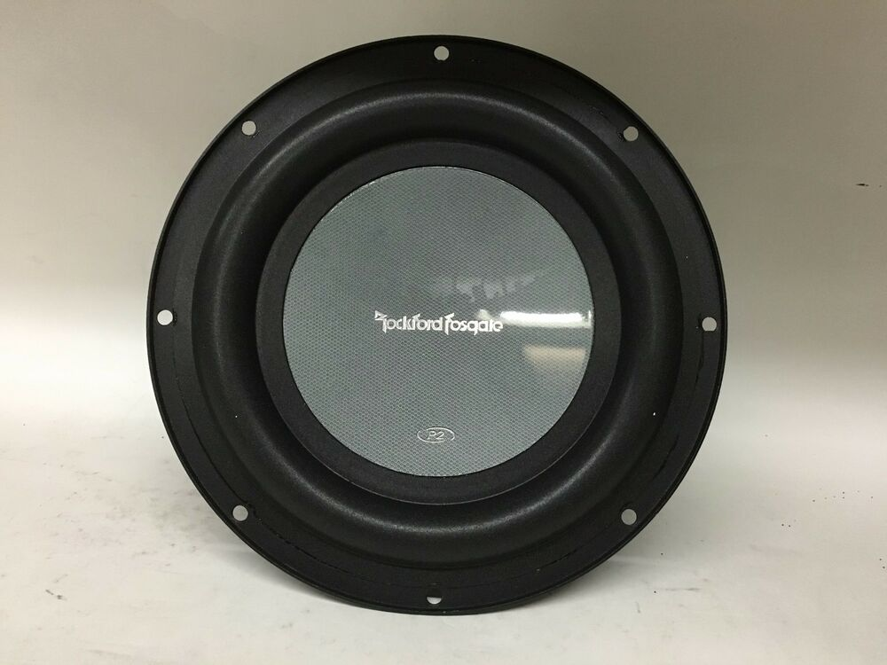 new old school rockford fosgate punch p2d28 8 subwoofer. Black Bedroom Furniture Sets. Home Design Ideas