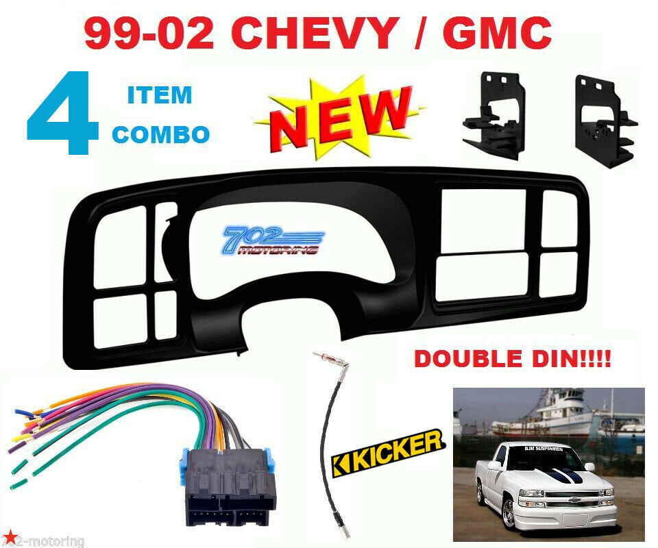 Metra Double Din Car Stereo Radio Install Dash Kit For