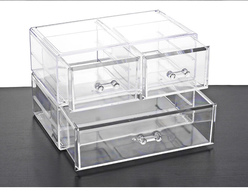 acryl kosmetikorganiser schublade aufbewahrung schmuck box ordnungsst nder k22 ebay. Black Bedroom Furniture Sets. Home Design Ideas
