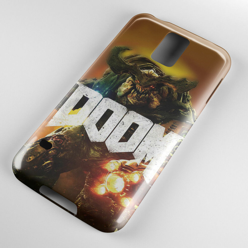 designer fashion 250bd 8d7d1 DOOM CyberDemon Boss Printed Phone Case Cover for Samsung S5 Note 5 iPhone  6 6+ | eBay