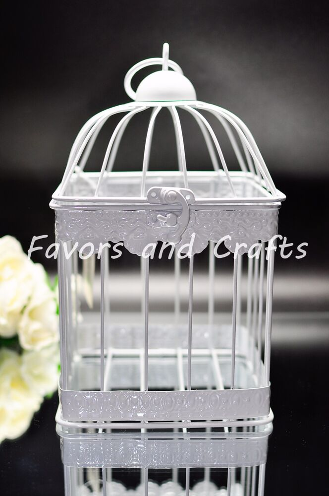 Retro Bird Cage Lantern Wedding Rustic Vintage Centerpiece