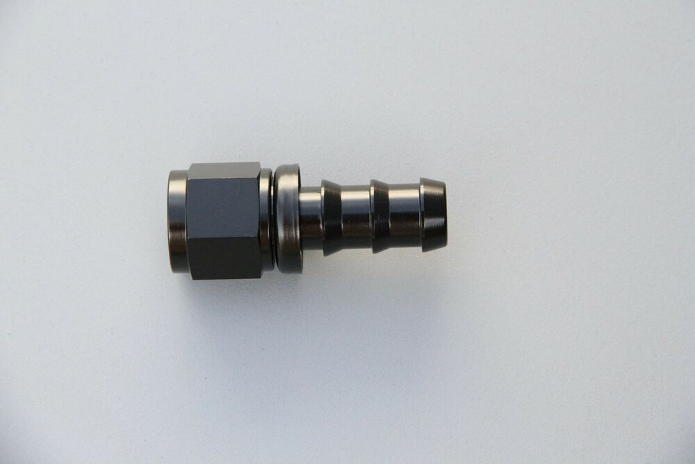 An push on swivel tube oil fuel line hose end fitting