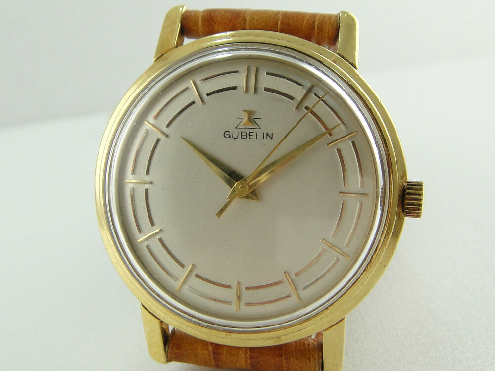 authentic gubelin solid 18k gold automatic s ebay