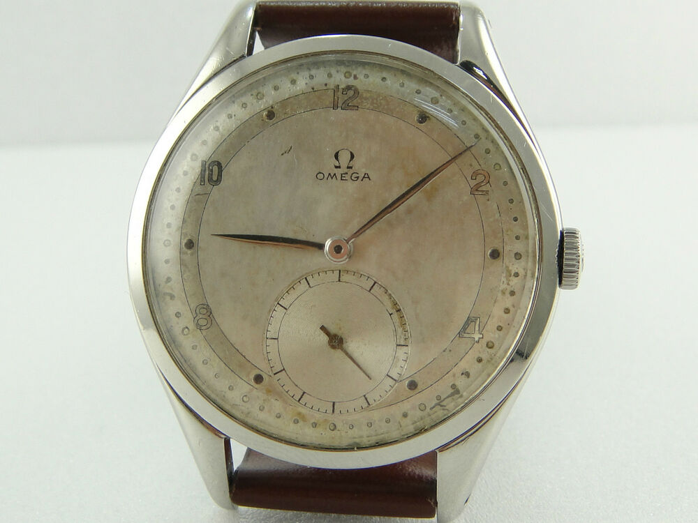 Authentic Omega Big Size 38mm Stainless Steel Cal 265