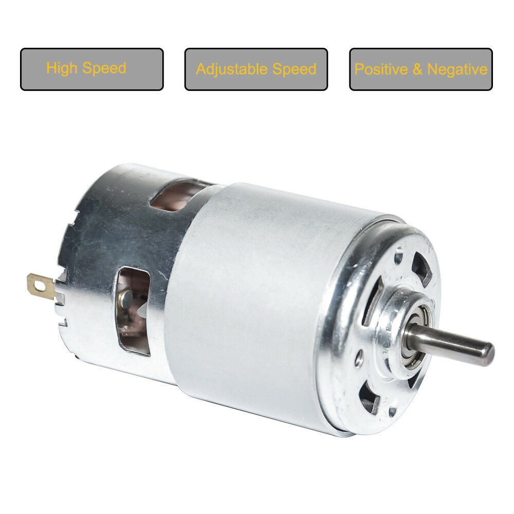 diy small permanent magnet electric dc 12v brush dc motor