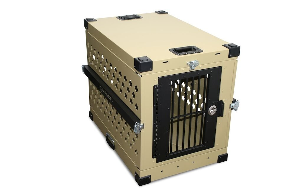 Foldable Collapsible Aluminum Dog Crate Large Ebay