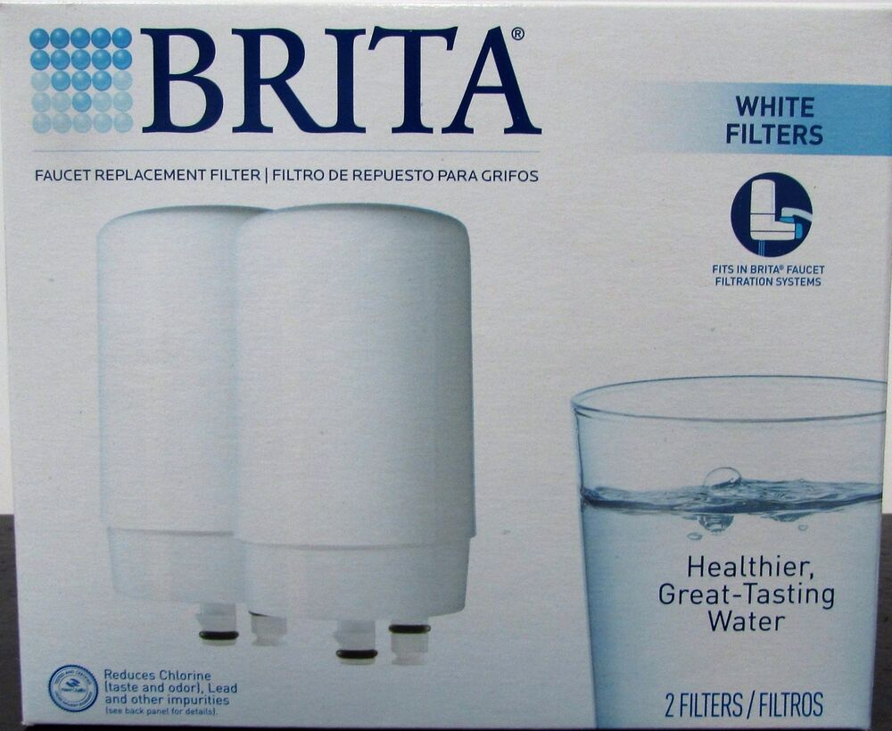 2 Brita On Tap Faucet Water Filter System Replacement