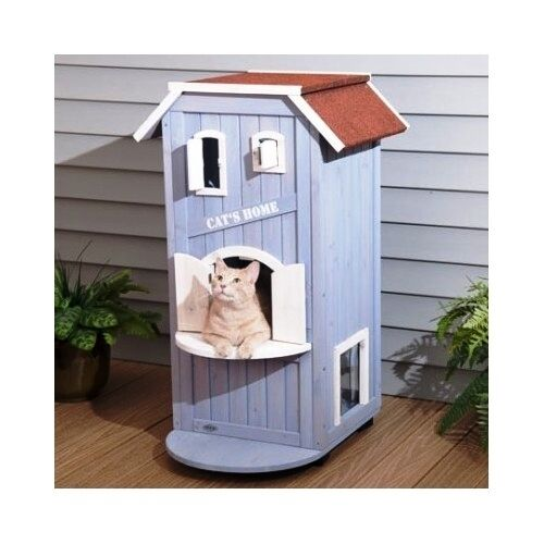 Indoor Outdoor Cat House