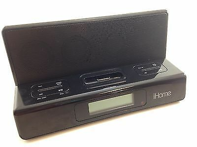 ihome adapter for iphone 6 used ihome ih27b speaker dock alarm clock w ac adapter 1690