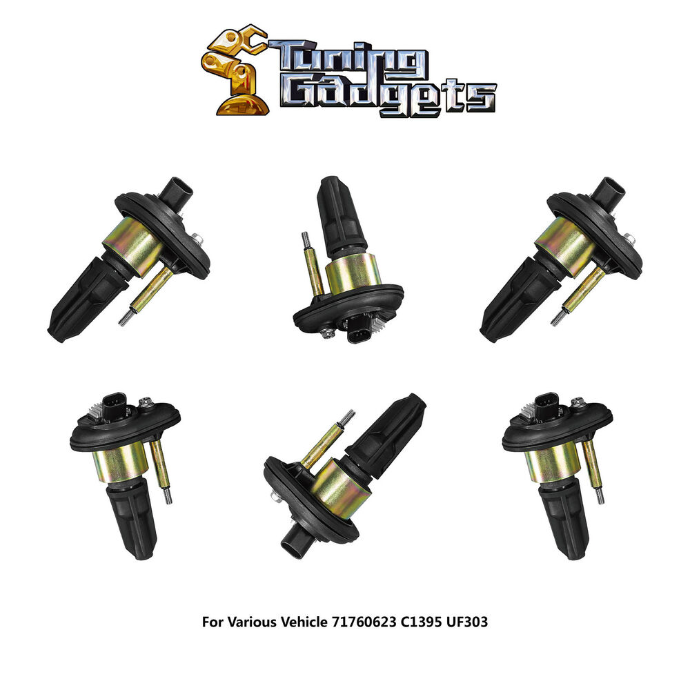Ignition Coil Trailblazer: 6 Pack Ignition Coil For B349 IC154 02-05 Chevy