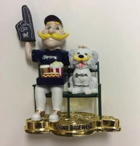 Milwaukee BREWERS April 2015 Bobblehead of the Month Bernie Brewer ...
