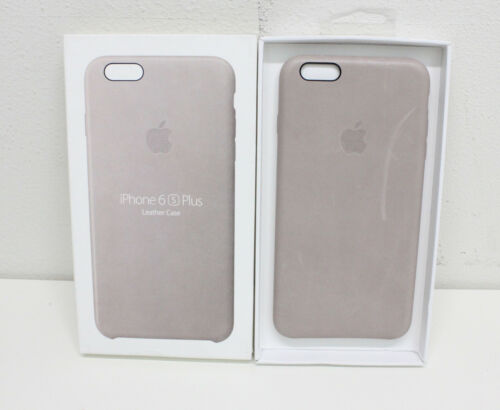 USED APPLE  Leather Case for Apple iPhone 6/6s plus- MKXE2ZM/A ROSEGRAY